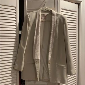 Helmut Lang blazer with Calf skin lapel